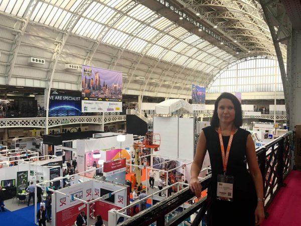 Jo Peasland attends the London Build Expo 2019